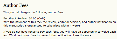 Author Fees